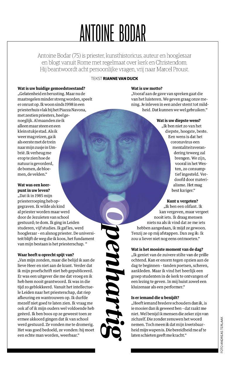Antoine Bodar - Interview